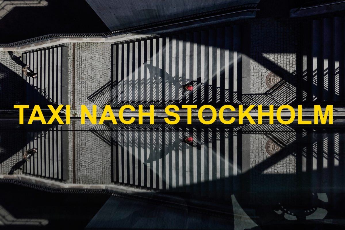 Taxi nach Stockholm